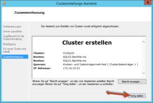 Clusterinstallation07
