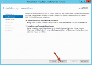 Microsoft Cluster Rolle Installation 03